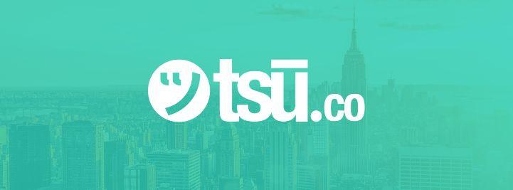 The early Tsu.co logo